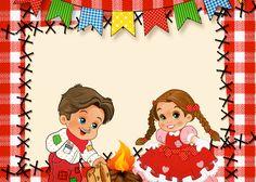 Red and White Junina Party Kit Invitation Party Kit, I Party, Red And White, Diy And Crafts, Disney Characters, Fictional Characters, Invitations, Disney Princess, Brenda