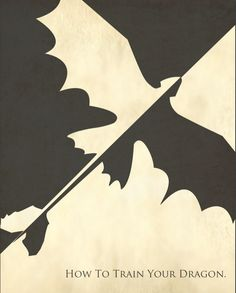 how to train your dragon minimalist poster.  Wont let me post my website for some reason so the link is on my twitter.
