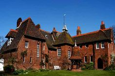 Red House, William Morris and Philip Webb. Bexleyheath, London. (Arts and Crafts movement is my favorite.)
