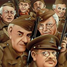 Dad's Army Cartoon