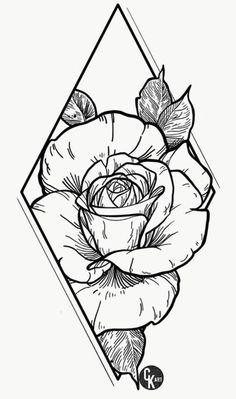 Tattoo Design Drawings, Cool Art Drawings, Pencil Art Drawings, Tattoo Sketches, Drawing Sketches, Tattoo Outline Drawing, Dark Drawings, Portrait Sketches, Tattoo Art