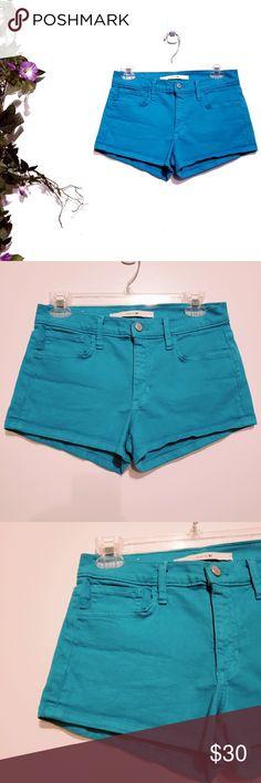 47b3c379ef Joes Jeans Turquoise Shorts 28 Waist 14.5