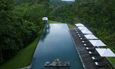 Lovely pool at Alila Ubud