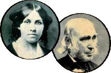 Louisa May Alcott - Amos Bronson Alcott - Famous Homeschoolers - Famous Homeschool Parents