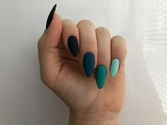 Image uploaded by Marleen. Find images and videos about beauty and nails on We Heart It - the app to get lost in what you love. Aycrlic Nails, Manicures, Hair And Nails, Bling Nails, Glitter Nails, Matte Nails, Color For Nails, Nagellack Design, Fire Nails
