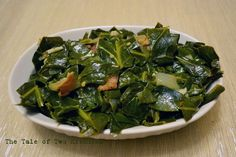 Spicy Collard Greens. YUM