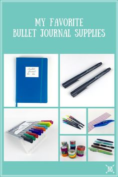 A perpetually updated list of my favorite Bullet Journal Supplies and reviews :)
