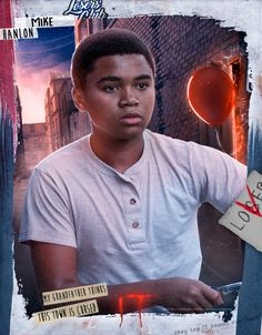Chosen Jacobs is Mike Hanlon | #IT #ItMOVIE #It2017