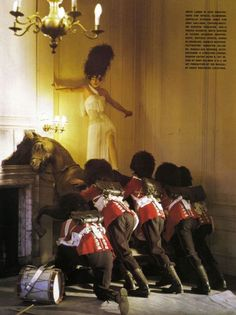 Giant Toy Soldiers....Tim Walker