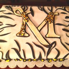 Millersville University Cake by Sweet Gerri's. Made for N'Dea's going away party.   WWW.sweetgerris.com
