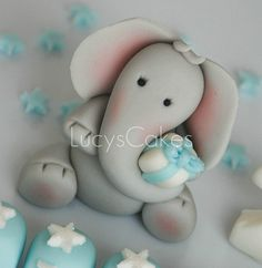 edible elephant topper - Google Search