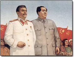 Stalin & Mao, before Sino-Soviet relations got awkward