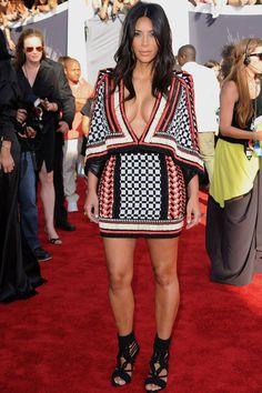 Kim Kardashian Fashion - Kim Kardashian's Best 2014 Looks - Elle