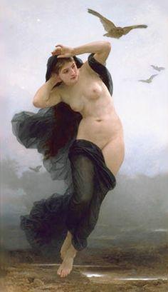William-Adolphe Bouguereau Night