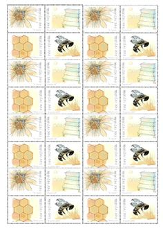 By Jenny Duke. I love bees! I'm so sad that they are in trouble. I Love Bees, My Love, Cambridge, Duke, Insects, Stamps, Sad, Seals, Postage Stamps