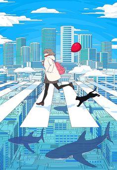 37 trendy ideas for art inspo anime Art Inspo, Kunst Inspo, Inspiration Art, Aesthetic Anime, Aesthetic Art, Aesthetic Drawings, Aesthetic Clothes, Art And Illustration, Art Illustrations