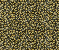 Monarch Butterflies fabric by valerinick_ on Spoonflower - custom fabric