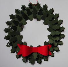 Ideastars Christmas wreath - Ghirlanda di carta
