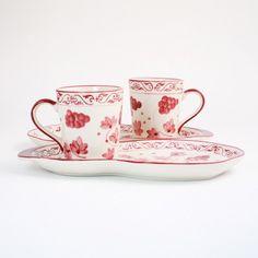 temp-tations® by Tara: temp-tations® Vineyard 4-pc. Plate and Mug Duet Set
