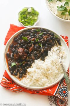 African black bean Stew with crayfish Veggie Recipes, Vegetarian Recipes, Cooking Recipes, Healthy Recipes, Vegetarian Vietnamese, Vegetarian Italian, Vietnamese Food, Cooking Tips, Black Bean Stew