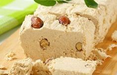 Bakes Halva Recipe Here is a recipe for a Greek baked halva, a pudding dessert that originated in Turkey.Here is a recipe for a Greek baked halva, a pudding dessert that originated in Turkey. Greek Sweets, Greek Desserts, Greek Recipes, Pudding Desserts, Dessert Recipes, Milk Pie Recipe, Recipe Recipe, Pudding Recipe, Halvah Recipe