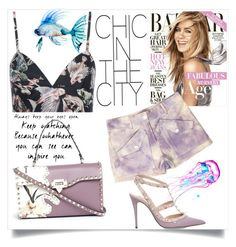 """""""Chic in the City"""" by sabrina-0803 ❤ liked on Polyvore featuring Valentino and Michael Kors"""