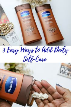 Easily add self-care to your daily routine with @vaselineus CocoaRadiant! #ad