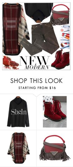 """New modern"" by teoecar ❤ liked on Polyvore featuring FRUIT, Sara Battaglia, McQ by Alexander McQueen and modern"