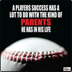 Success can be determined by a players character...not just his ability on the field!  love this!!!