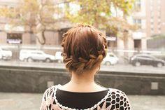 DIY Grecian Braid hairstyle