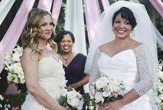 Grey's Anatomy - Jessica Capshaw (Dr. Arizona Robbins) , Chandra Wilson (Dr. Miranda Bailey) and Sara Ramirez (Dr. Callie Torres)