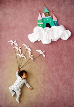 Mom Turns Her Sleeping Baby Into Artistic Masterpieces - Likes