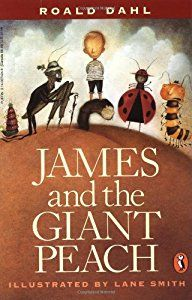 """When poor James Henry Trotter loses his parents in a horrible rhinoceros accident, he is forced to live with his two wicked aunts, Aunt Sponge and Aunt Spiker. After three years he becomes """"the saddest and loneliest boy you could find."""" Then one day, a wizened old man in a dark-green suit gives James a bag of magic crystals that promise to reverse his misery forever. When James accidentally spills the crystals on his aunts' withered peach tree, he sets the adventure in motion. From the old…"""