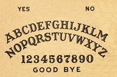 Custom Ouija Board Printable Templates