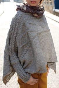 Free Knitting Pattern for Madison Poncho