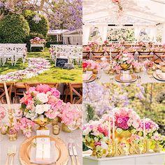Seriously Stunning Pink Australia Wedding - MODwedding