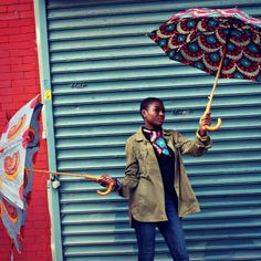 African Print Umbrellas by #babtunde now on www.africaboutik.us