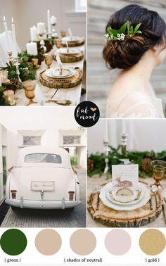 Read more fabmood.com | Neutral Winter Wedding Palette #weddingcolours #weddingtheme #wedding