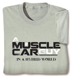 MUSCLE CAR GUY SHIRT