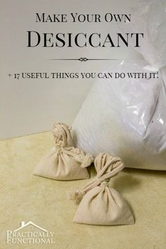 Make Your Own Desiccant & 17 Everyday Uses! [by the same person as the homemade laundry detergent without borax] by Jessi Wohlwend Homemade Grout Cleaner, Cleaners Homemade, Homemade Cleaning Products, Natural Cleaning Products, Silica Gel Uses, Clean Your Washing Machine, Make Your Own, Make It Yourself, Diy Cleaners