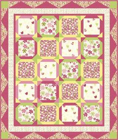 Pattern for Emma Pink a Doodle available at www.piecefulquilter.com