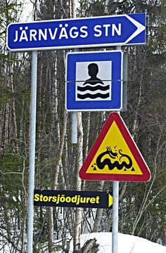 Varning för | anläggningar, Jämtland, kultur, storsjöodjuret, varning ...