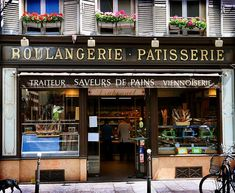 Boulangerie Patisserie, means Bakery and Pastry Shop Patisserie Paris, Paris Bakery, French Patisserie, French Bakery, Vegetable Nutrition, Healthy Living Magazine, Bakery Design, Health Breakfast, Breakfast Recipes