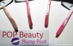 POP Beauty Plump Pout Swatches