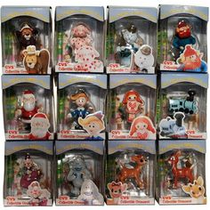Rudolph Island of Misfit Toys Complete 1999 Ornament Set of 12  CVS Enesco NFRB -- More info could be found at the image url. (This is an affiliate link and I receive a commission for the sales)