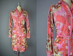Vintage 60s Emilio Pucci Blouse and Skirt // Medium #pucci #emiliopucci #vintagepucci #designervintage #madmen #60s #mod #boho #hippie