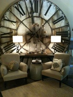 amazing clock! reminds me of Peter Pan....would be even more amazing if it were a big glass window with numbers.....