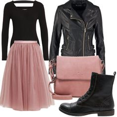 Outfit Tulle rock Outfit Tulle rock The post Outfit Tulle rock appeared first on Jody Harris. Outfits Casual, Mode Outfits, Skirt Outfits, Classy Outfits, Beautiful Outfits, Fashion Outfits, Womens Fashion, Tule Skirt Outfit, Rock Chic Outfits