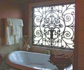 Tableaux Faux Iron Window #68