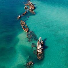 Moreton Bay @ Queensland, Australia. Awesome.